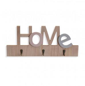Cuier maro din MDF pentru chei Home Key Versa Home