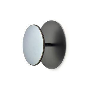 Cuier negru din otel si sticla Terra Serax