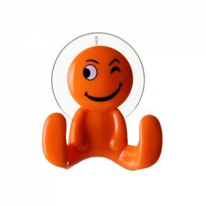 Cuier portocaliu din polistiren Happy Unimasa