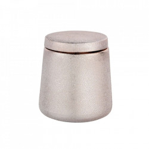 Cutie cu capac roz din ceramica pentru bijuterii Glimma Rose Wenko