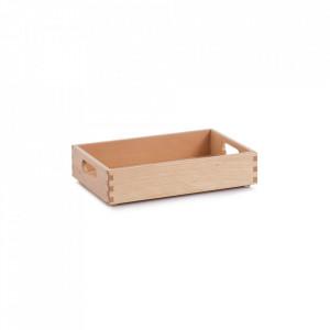 Cutie maro din lemn Beech Lacquered Zeller