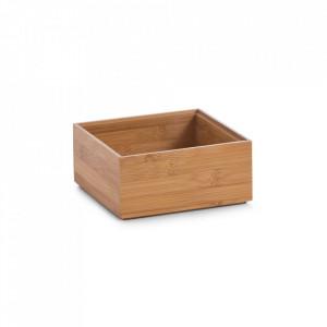 Cutie maro din lemn Dom Zeller