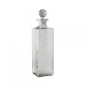 Decantor transparent din sticla 8x32 cm Derek Nordal