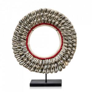 Decoratiune crem din scoici 37 cm Necklace Versmissen
