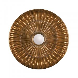 Decoratiune cu oglinda din fier pentru perete 100 cm Sun LifeStyle Home Collection