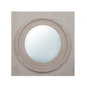 Decoratiune cu oglinda din lemn pentru perete 60x60 cm Juna LifeStyle Home Collection