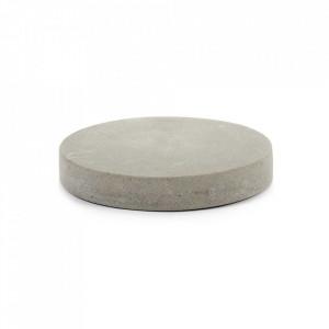 Decoratiune gri din beton 3 cm Shape Serax