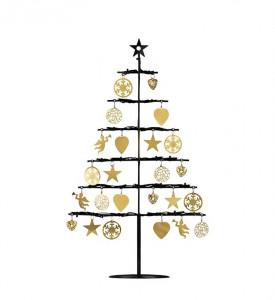 Decoratiune luminoasa LED neagra din plastic Borken Tree Markslojd