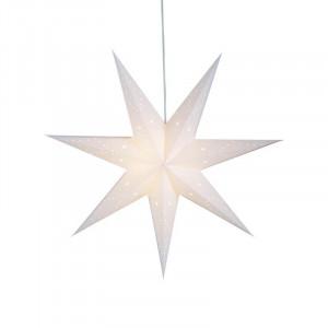 Decoratiune luminoasa suspendabila alba din carton Saturnus Markslojd