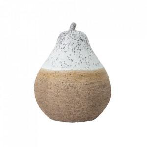 Decoratiune maro din ceramica 19 cm Abby Creative Collection