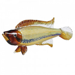 Decoratiune multicolora din sticla 20 cm Fish Versmissen