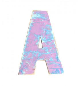 Decoratiune roz din lemn 18 cm And Raw Materials