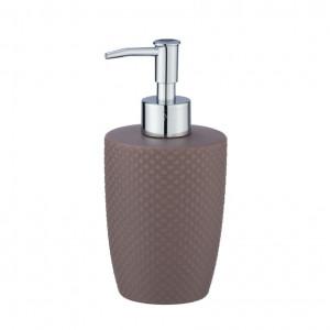 Dispenser sapun lichid grej din ceramica 380 ml Punto Wenko