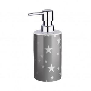Dispenser sapun lichid gri/alb din ceramica 360 ml Stella Wenko