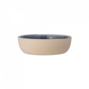 Farfurie adanca albastra din ceramica 16 cm Anne Bloomingville