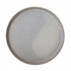 Farfurie gri din ceramica 20 cm Bloomingville