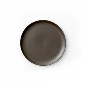 Farfurie maro din portelan 19 cm Norm Menu