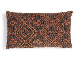 Fata de perna maro din textil 30x50 cm Nicam La Forma