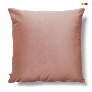 Fata de perna roz din catifea 45x45 cm Jolie La Forma