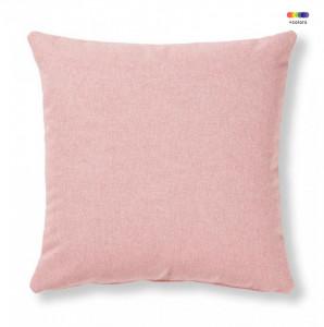 Fata de perna roz din textil 45x45 cm Mak Varese La Forma