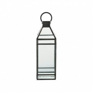 Felinar din fier si sticla 56 cm Pilar LifeStyle Home Collection