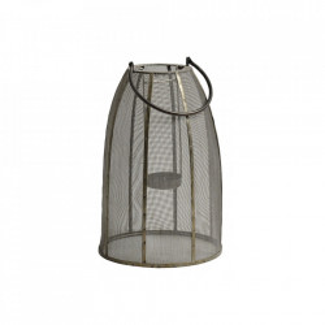 Felinar gri/negru din fier 39 cm Iron Lantern Small Nordal