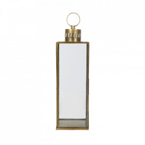 Felinar maro alama/transparent din fier si sticla 72 cm Adia LifeStyle Home Collection