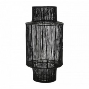 Felinar negru din otel 45 cm Tabia House Doctor