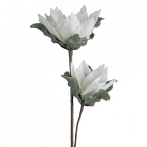 Floare artificiala din polietilena si fier 84 cm Alep Ixia