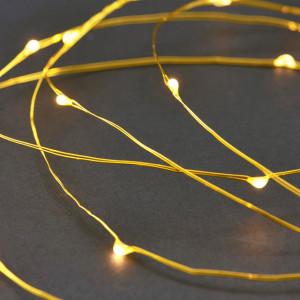 Ghirlanda luminoasa aurie cu 80 LED-uri String 10 m House Doctor