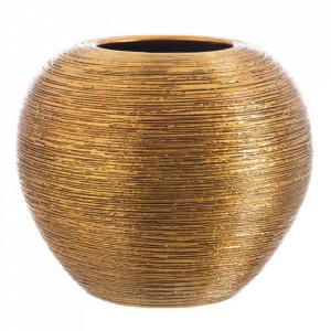 Ghiveci auriu din ceramica 37 cm Ipuy Ixia
