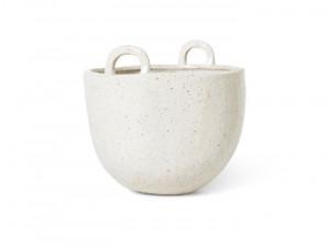 Ghiveci crem din ceramica 18,5 cm Speckle Ferm Living