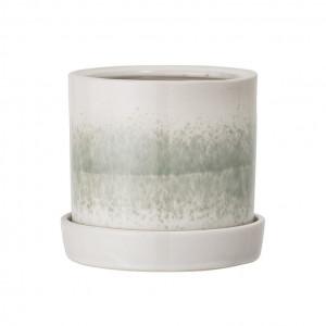 Ghiveci din ceramica verde Paula Bloomingville