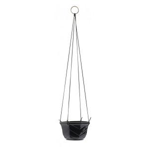 Ghiveci suspendabil negru din ceramica 16 cm Merry Nordal