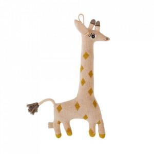 Jucarie multicolora din bumbac Guggi Giraffe Oyoy