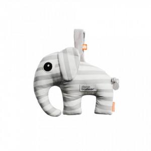 Jucarie muzicala din bumbac Gray Elephant Done by Deer