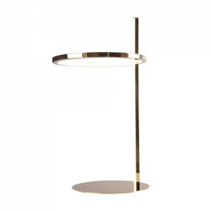 Lampa birou aurie din inox 55 cm Lozanna Maxlight