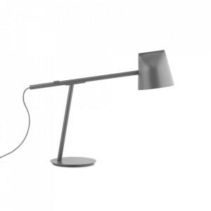 Lampa birou gri din metal cu LED 44 cm Momento Normann Copenhagen