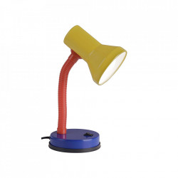 Lampa birou multicolora din plastic si metal 30 cm Junior Brilliant