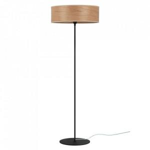 Lampadar rosu cireasa din lemn si otel 129 cm Tsuri Sotto Luce