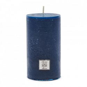 Lumanare albastra din ceara 13 cm Rustic Riviera Maison