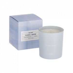 Lumanare parfumata din sticla si ceara 9 cm Floral Sense Kave Home