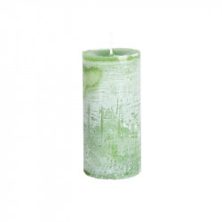 Lumanare verde din ceara parafinica 15 cm Lars LifeStyle Home Collection