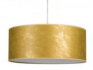 Lustra aurie din textil Tropic Gold Santiago Pons