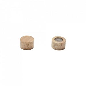 Magnet maro din lemn de stejar Rounded Oak Hubsch
