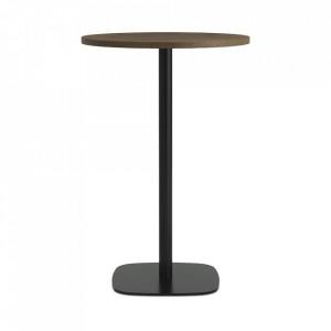 Masa bar neagra/maro inchis din otel 70 cm Form Normann Copenhagen