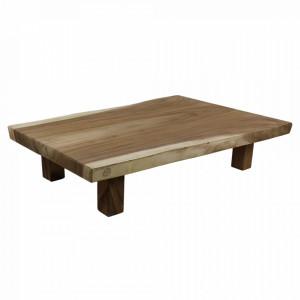 Masa de cafea maro din lemn de mungur 70x120 cm Muneh HSM Collection