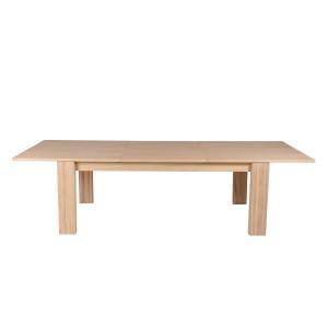 Masa dining extensibila din lemn de stejar 90x(180)250 cm Mys Zago