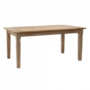 Masa dining extensibila maro din lemn de mango 100x170(270) cm Sia Denzzo