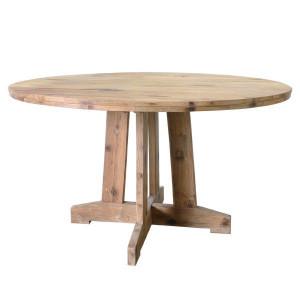 Masa dining maro din lemn 140 cm Round HK Living
